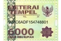 Buy Meterai Tempel - 6000 Rupiah