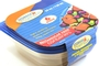Buy Plastic Square Food Container with Lid - 6 1/2 x 6 1/2 inch -  3 Pieces
