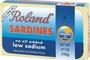 Buy Roland Sardines in Water (Low Sodium) - 4oz