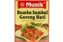 Buy Munik Bumbu Sambal Goreng Hati (Beef Liver in Chilli & Coconut Milk Seasoning) - 4.94oz