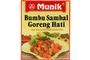 Buy Munik Bumbu Sambal Goreng Hati (Beef Liver in Chilli & Coconut Milk Seasoning) - 4.94oz