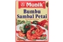 Buy Munik Bumbu Sambal Petai (Stir Fry Petai in Hot Sauce Seasoning) - 3.2oz