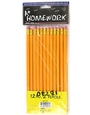Buy Yellow Pencils #2 with Eraser - 12/pack