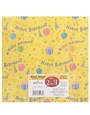 Buy Gift Wrap 2 sheets (Happy Birthday) - 20 inch x 2.5 ft