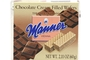 Buy Manner Chocolate Cream Filled Wafers - 2.5oz