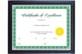 Buy Multipurpose Certificate Frame with Glass Cover (11 inch X 14 inch)