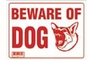 Buy Beware of Dog Sign (12 inch X 16 inch)