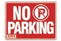 Buy Bazic No Parking Sign (12 inch X 16 inch)