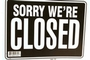Buy Bazic Open Sign with Closed Sign on Back (12 inch X 16 inch)