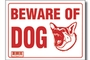 Buy Beware of Dog Sign - 9 inch X 12 inch