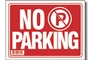 Buy No Parking Sign (9 inch X 12 inch)