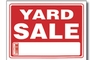 Yard Sale Sign (9 inch X 12 inch)