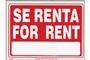 Buy Se Renta Sign (9 inch X 12 inch)