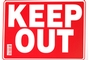 Buy Keep Out Sign - 12 inch X 16 inch