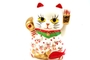 Buy JPC Maneki-Neko (Lucky Fortune Cat with Red Fish Figurine) - 10cm high