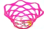Buy Modern Design Fruit Bowl (Red/Magenta)