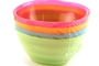 Buy Plastic Bowls 8oz (Assorted Colors)  - 4/pk