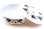 Buy GS Melamine Bowl with Lid (Blue Flower Motives)