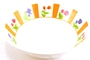 Buy Melamine Bowl (Colorful Flower Motives)