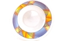 Buy GS Melamine Bowl (Blue with Yellow Stripes Motive)