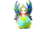 Buy Pacific A World in Good Hands Fairy Figurines
