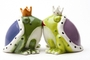 Buy Attractive Magnetic Salt and Pepper Shaker Set (Kiss A Lot of Frogs) -  4 inch