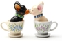 Buy Magnetic Salt and Pepper Shaker Set (Tea Cup Pups) - 4 inch