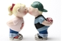 Buy Magnetic Salt and Pepper Shaker Set (First Kiss) -3 1/4 inch
