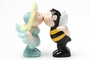 Buy Magnetic Salt and Pepper Shaker Set (Flower and Bee) - 4 inch