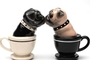 Buy Attractive Magnetic Salt and Pepper Shaker Set (Tea Cup Pugs) - 4 inch