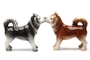Buy Pacific Magnetic Salt and Pepper Shaker Set (Huskies) - 4 inch