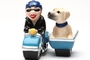 Buy Pacific Magnetic Salt and Pepper Shaker Set (Dog Gone Side Car) - 4 inch