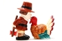 Buy Attractive Pilgrim Magnetic Salt and Pepper Shaker Set (Thanksgiving Turkey) - 4 inch