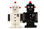 Buy Pacific Magnetic Salt and Pepper Shaker Set (Robots) - 4 inch