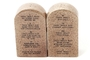 Buy Pacific Magnetic Salt and Pepper Shaker Set (Ten Commandments) - 4 inch