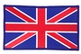 British Flag Iron on Patch