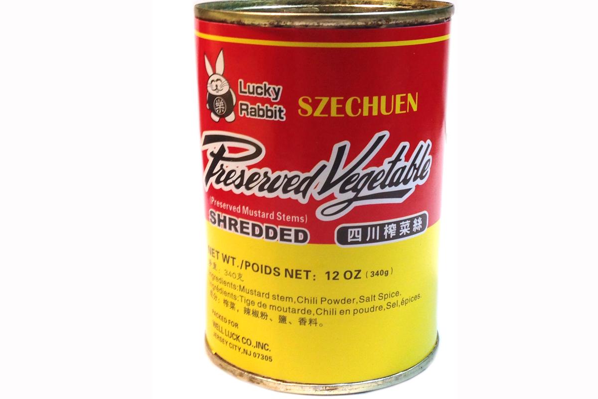 Szechuen Preserved Vegetable (Shredded) - 12oz's Gallery Rabbit