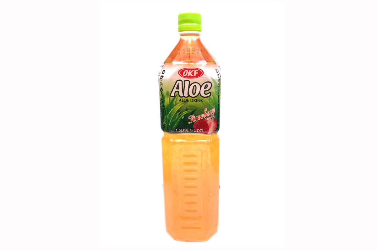 Aloe Drink (Strawberry Taste) - 50.7fl oz's Gallery