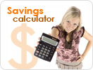 grocery savings calculator